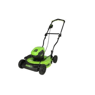 PRO 19 in. 60-Volt Battery Cordless 2-in-1 Lawn Mower (Tool-Only)