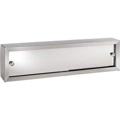 Cosmetic Box 48-1/4 in. W x 8.75 in. H x 4.25 in. D Surface-Mount Bathroom Medicine Cabinet