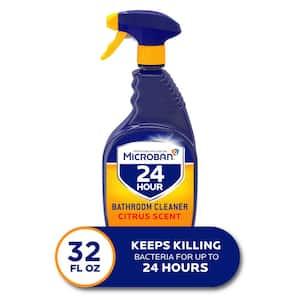 24-Hour 32 oz. Citrus Scent Bathroom Cleaner Spray