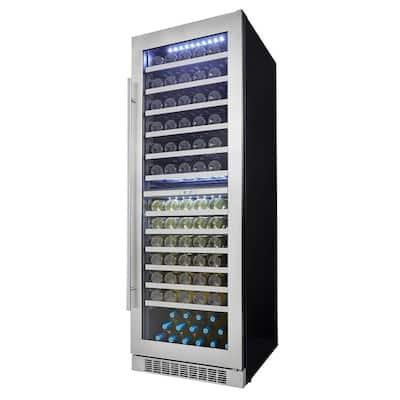 Professional 129-Bottle Dual Zone Built In Wine Cellar