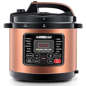 12.5 Qt. Copper Electric Pressure Cooker with Ceramic Pot