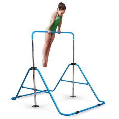 Blue Expandable Gymnastics Bar Junior Training