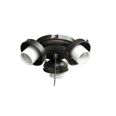 Clarkston II LED Oiled Rubbed Bronze Light Kit