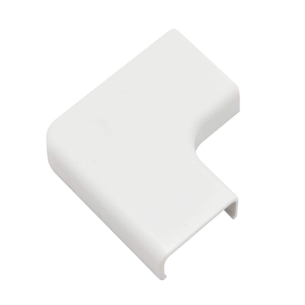 Legrand Wiremold Cordmate Ii Cord Cover Flat Elbow White C56 The Home Depot