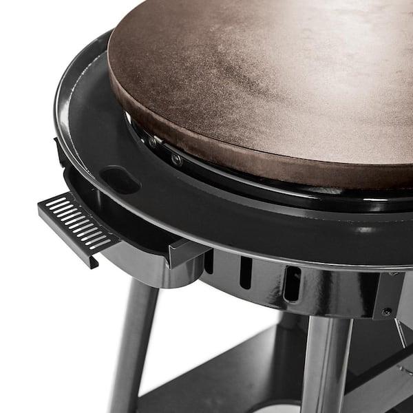 Cuisinart 2 Burner Propane Gas 360, Cuisinart Round Flat Top Grill