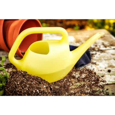Translucent 50 oz. Goldfinch Plastic Watering Can