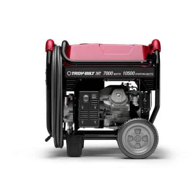 XP Series 7000-Watt Gasoline Electric Start Portable Generator powered by OHV Engine