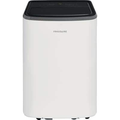 8,000 BTU (4,300 BTU, DOE) Portable Air Conditioner with Remote Control for Rooms up to 350 sq. ft. in White