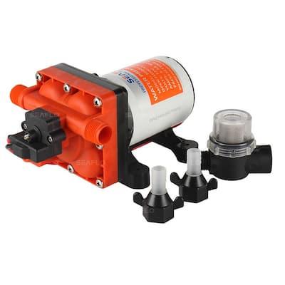 12-Volt 3.0 GPM 0.064 HP Variable Flow Water Pressure Diaphragm Pump