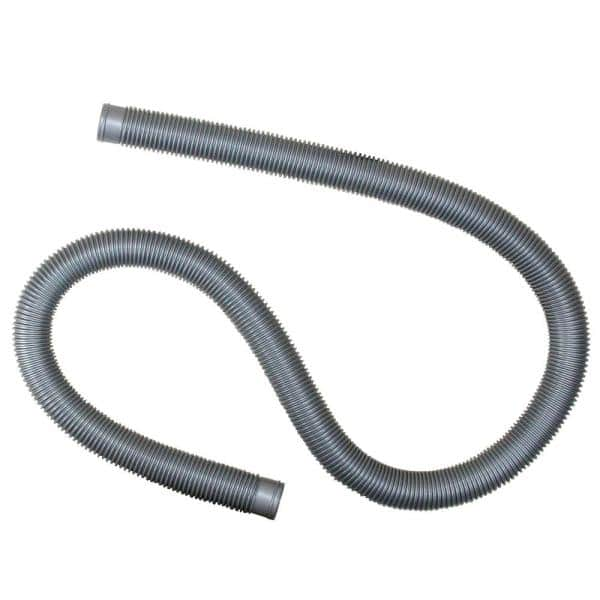 Pool Central 72 In X 1 25 In Heavy Duty Silver Pool Filter Connect Hose 32757236 The Home Depot