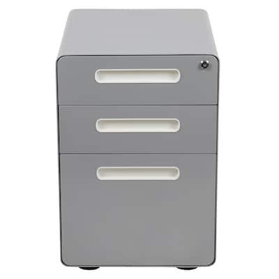 Gray Filing Cabinet