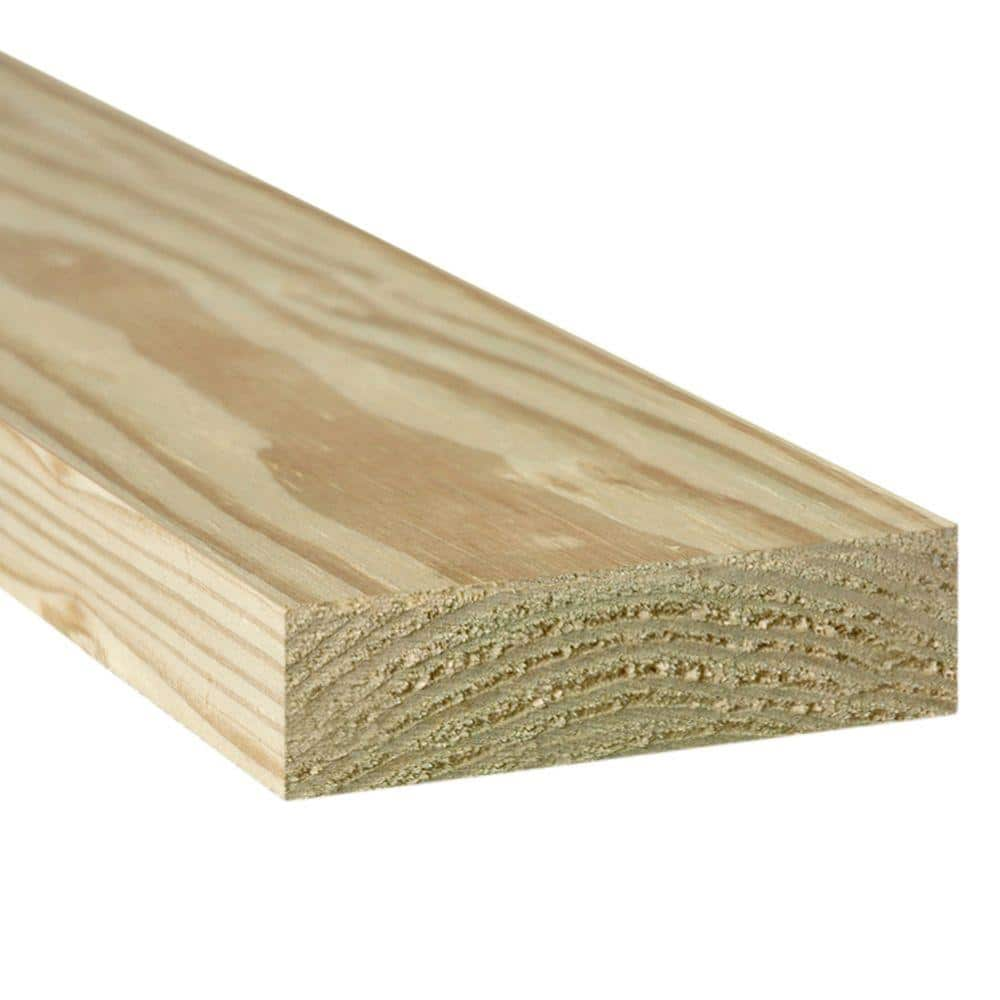 2 In X 10 In X 12 Ft 2 Ground Contact Pressure Treated Lumber 106153 The Home Depot