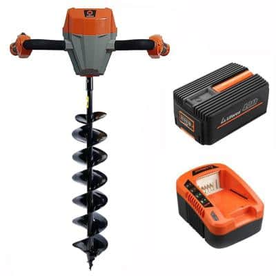 Redback 40-Volt Earth Auger Kit w/ 6-in Bit and 4 Ah Battery and Quick Charger Included