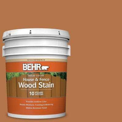 5 gal. #SC-533 Cedar Naturaltone Solid Color House and Fence Exterior Wood Stain