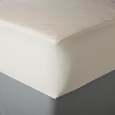 Organic 3.93 in. Twin Polyester Mattress Pad