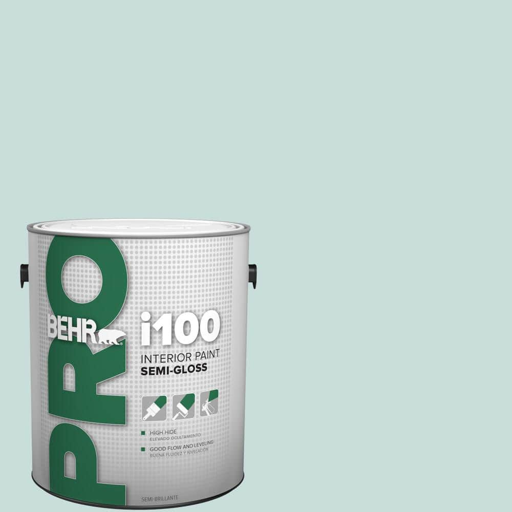 Behr Pro 1 Gal S440 1 Sunken Pool Semi Gloss Interior Paint Pr17001 The Home Depot