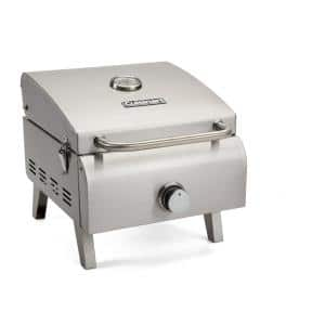 Professional Portable Propane Gas Grill in Stainless Steel