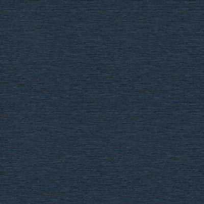 Gump Navy Blue Faux Grass Cloth Wallpaper