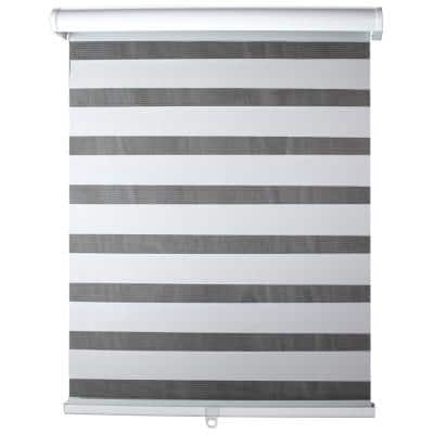 Light Filtering White 36 in. x 72 in. Cordless Sheer Shade