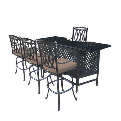 Outdoor Bar Furniture, Aluminum Patio Bar Set