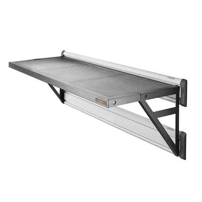 Premier Series 45 in. W x 20 in. D GearLoft Steel Garage Shelf in Hammered Granite