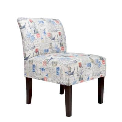 Samantha Amore Primary Natural Accent Chair
