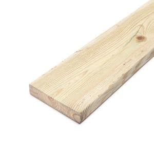 2 in. x 8 in. x 16 ft. #2 Prime Ground Contact Pressure-Treated Lumber