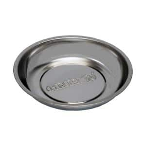 6 in. Magnetic Round Parts Tray