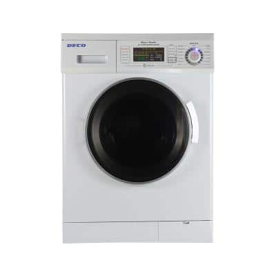 1.57 cu. ft. White High -Efficiency Vented / Ventless Electric All-in-One Washer Dryer Combo