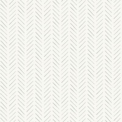 Pick-Up Sticks Grey Paper Peel & Stick Repositionable Wallpaper Roll (Covers 34 Sq. Ft.)