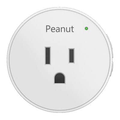 Peanut Plug, White