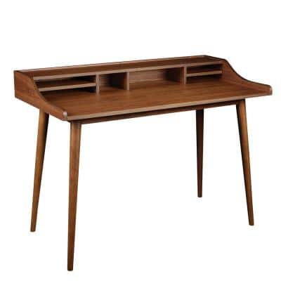 Flavio Brown Desk in American Walnut