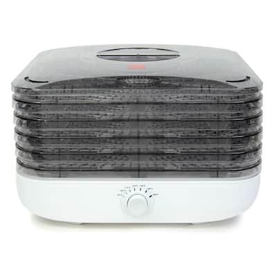 5-Tray White Turbo Food Dehydrator