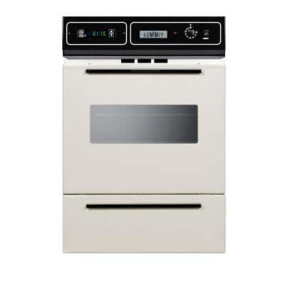 24 in. Single Gas Wall Oven in Bisque