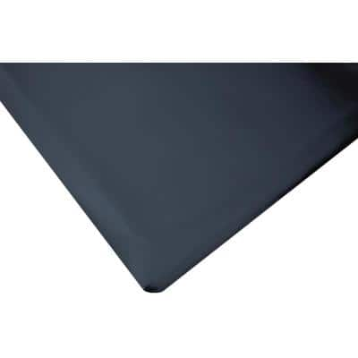 Marbleized Tile Top Black 2 ft. x 6 ft. x 7/8 in. Anti-Fatigue Commercial Mat