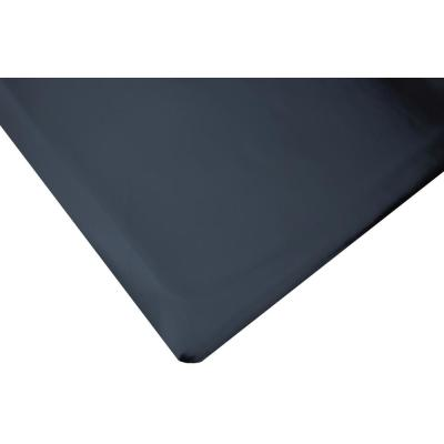 Marbleized Tile Top Anti-Fatigue Black 4 ft. x 10 ft. x 1/2 in. Vinyl Commercial Mat