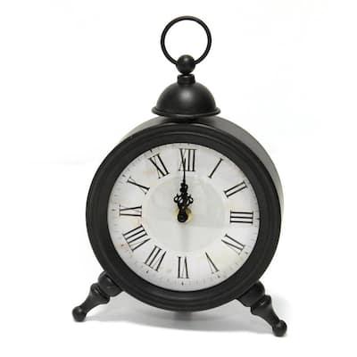 Norman Metal Table Clock