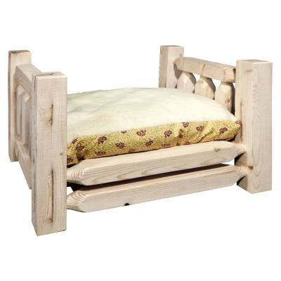 Homestead Collection Small Lacquered Pet Bed