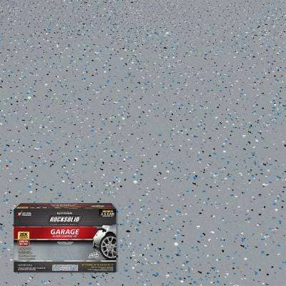 180 oz. Gray Polycuramine 2.5 Car Garage Floor Kit