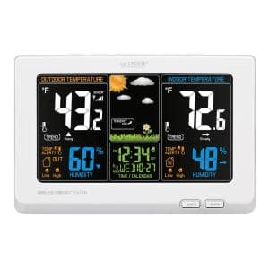 T85647 La Crosse Technology Wireless Color Weather Station with TX141TH-BV2