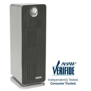 4-in-1 True HEPA Air Purifier with UV Sanitizer and Odor Reduction, 22 in. Tower