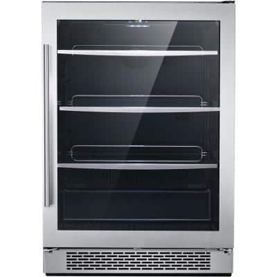 Library Series 24 in. 172-Can Capacity Cooler