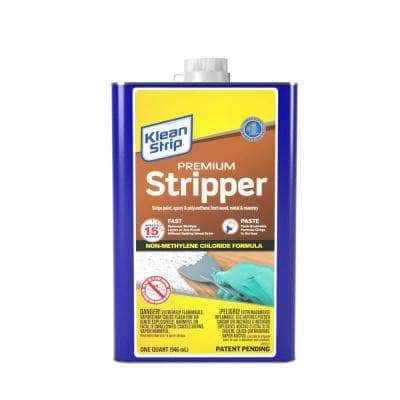 1 qt. Premium Paint Remover and Stripper - CA Formula
