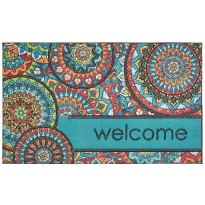 Welcome Bohemian Kingdom 18 in. x 30 in. Doorscapes Mat