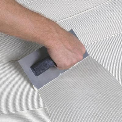 1/16 in. x 1/16 in. x 3/32 in. U-Notch Flooring Trowel