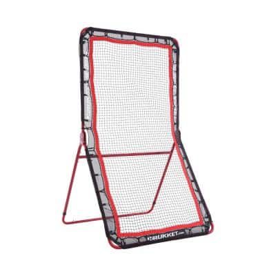 4 ft. x 7 ft. Lacrosse Rebounder Throwing Pitchback Training Screen