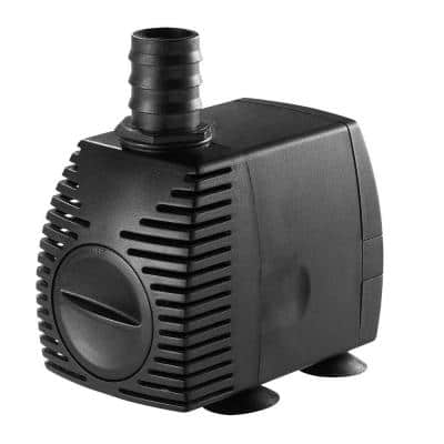 200 GPH Statuary Fountain Pump for Water Features