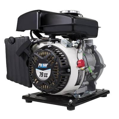 3 HP Gas Powered 1 in. Semi Trash Water Pump
