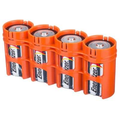 Slim Line D Battery Organizer and Dispenser