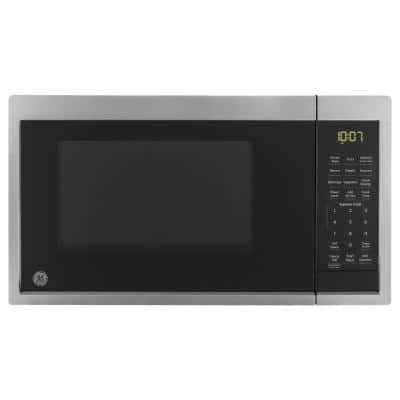 0.9 cu. ft. Smart Countertop Microwave in Stainless Steel